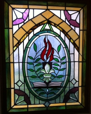 stained glass at CUMC Chapel 2