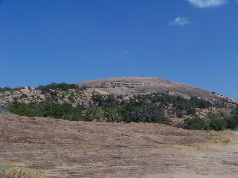 Enchanted  Rock 1825 feet above sea level