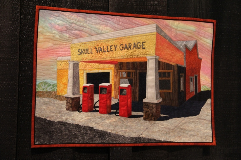 Skull Valley Garage made by Mary Ann Hildebrand