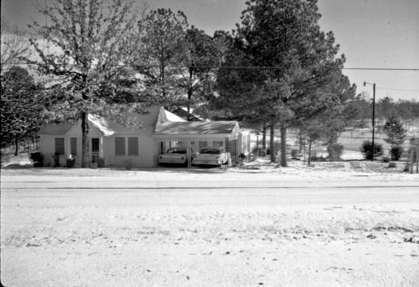 Mamaw & Papaw's house, Eupora MS, December 1963